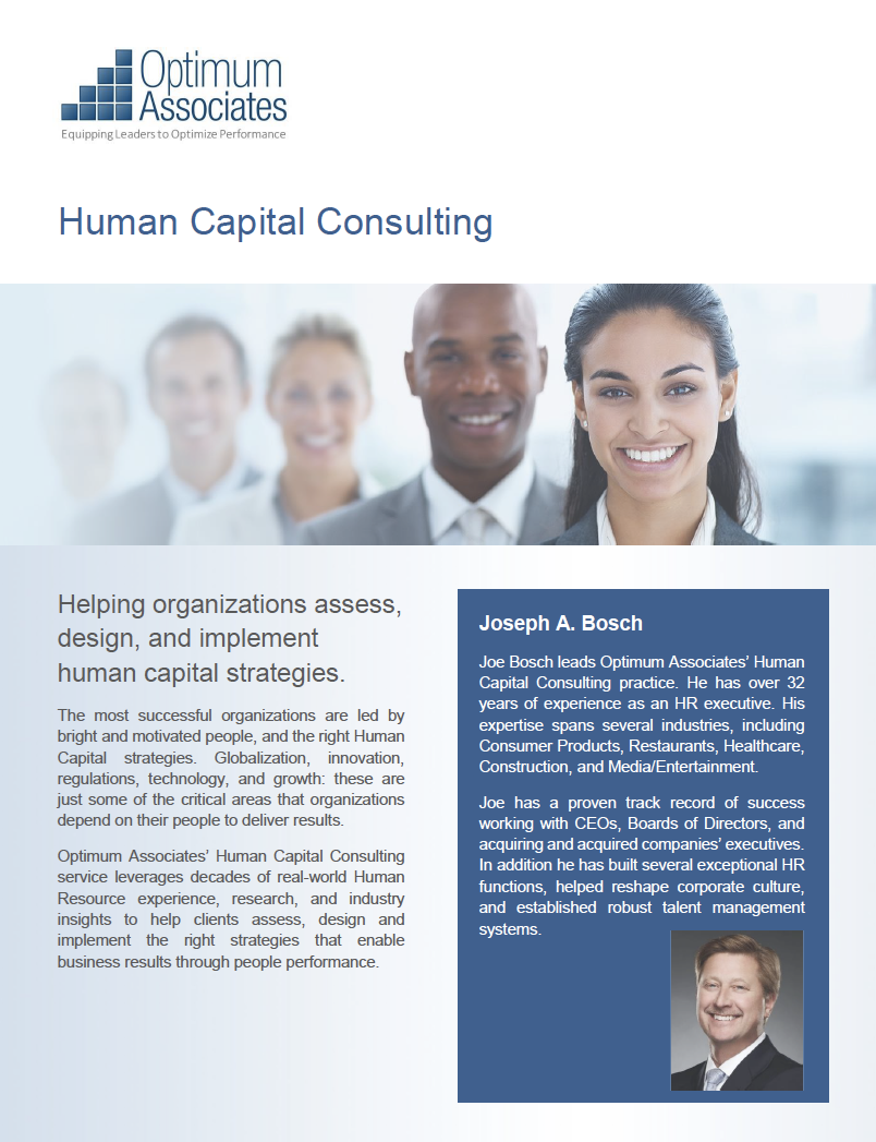 Human Capital Consulting Optimum Associates
